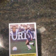Cromos de Fútbol: EDICIONES ESTE CAMPEONATO LIGA 81 - 82 R.C.D ESPAÑOL COROMINAS. Lote 178886167