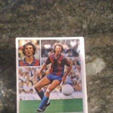 Cromos de Fútbol: EDICIONES ESTE CAMPEONATO LIGA 81 - 82 F.C BARCELONA MORATALLA. Lote 178886310