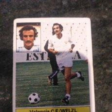Cromos de Fútbol: EDICIONES ESTE CAMPEONATO LIGA 81 - 82 VALENCIA C.F WELZL. Lote 178886738