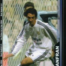 Cromos de Fútbol: LAS FICHAS DE LA LIGA 2004 Nº 772 JUANFRAN - R. MADRID (4 FICHAS). Lote 178918777