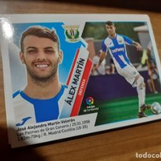 Cromos de Fútbol: CROMO COLECCIONES ESTE 2019/2020,EDITORIAL PANINI,EQUIPO LEGANES,JUGADOR ÁLEX MARTÍN.. Lote 178927760