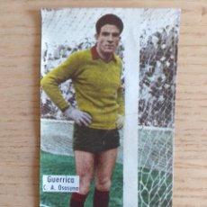 Cromos de Fútbol: FÚTBOL CROMO GUERRICA C.A. OSASUNA ÁLBUM MAGOS DEL BALÓN TRIUNFO 1962 1963 DESPEGADO. Lote 178933476