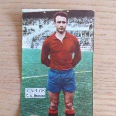 Cromos de Fútbol: FÚTBOL CROMO CARLOS C.A. OSASUNA ÁLBUM MAGOS DEL BALÓN TRIUNFO 1962 1963 DESPEGADO. Lote 178933515