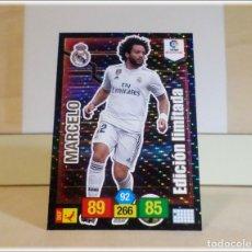 Cromos de Fútbol: ADRENALYN XL 2018 2019 18 19 PANINI MARCELO REAL MADRID EDICION LIMITADA CROMO LIGA CARD FUTBOL . Lote 178977108