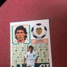 Cromos de Fútbol: ESTE 83 84 1983 1984 DESPEGADO ALIAGA VALENCIA FICHAJE 39. Lote 178998552