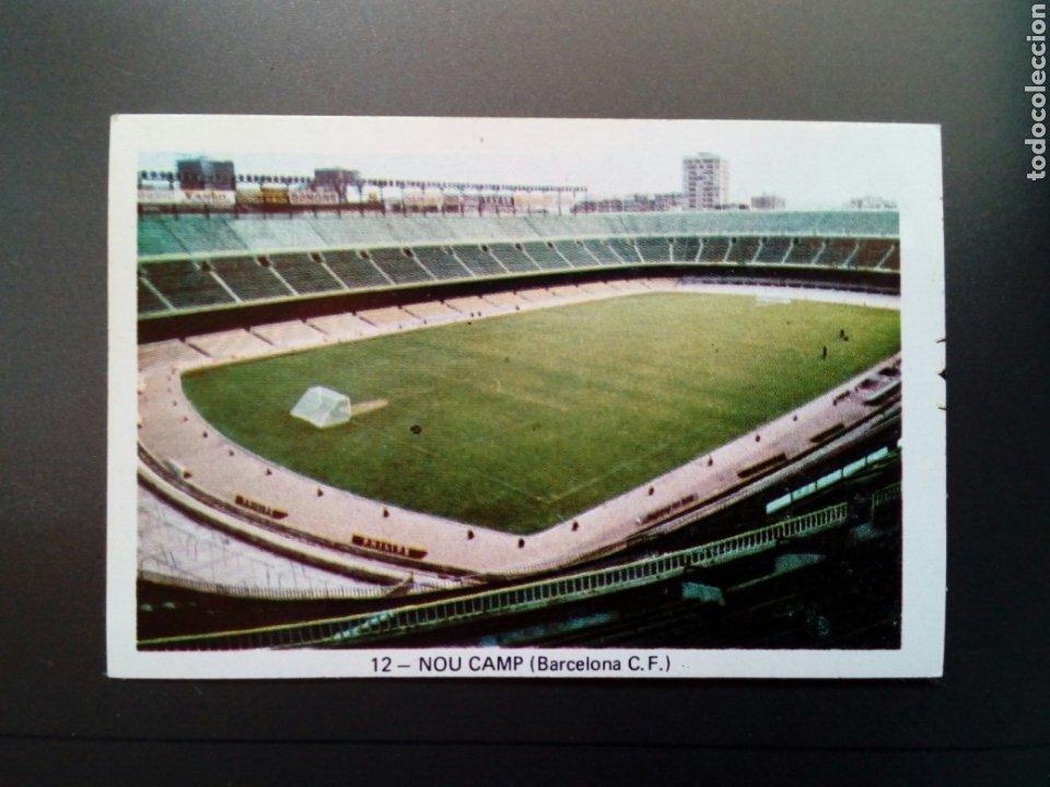 (SIN PEGAR NUNCA) FHER LIGA 73 - 74 : NOU CAMP 12 (BARCELONA C.F.) 1973 1974 - CROMO CAMPEONATO LIGA (Coleccionismo Deportivo - Álbumes y Cromos de Deportes - Cromos de Fútbol)