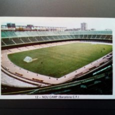 Cromos de Fútbol: (SIN PEGAR NUNCA) FHER LIGA 73 - 74 : NOU CAMP 12 (BARCELONA C.F.) 1973 1974 - CROMO CAMPEONATO LIGA. Lote 179023967
