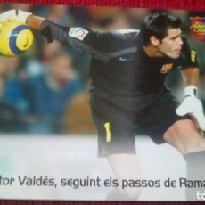Cromos de Fútbol: SABIES QUE. MEGACRACKS BARÇA CAMPIÓ 2004-2005. Lote 179128733
