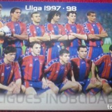 Cromos de Fútbol: LLIGUES INOLVIDABLES. MEGACRACKS BARÇA CAMPIÓ 2004-2005. Lote 179129141