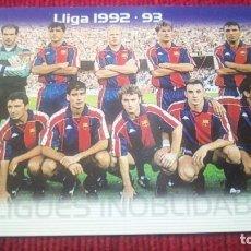 Cromos de Fútbol: LLIGUES INOLVIDABLES. MEGACRACKS BARÇA CAMPIÓ 2004-2005. Lote 179129251