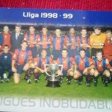 Cromos de Fútbol: LLIGUES INOLVIDABLES. MEGACRACKS BARÇA CAMPIÓ 2004-2005. Lote 179129346