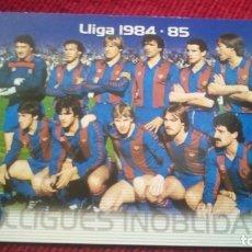 Cromos de Fútbol: LLIGUES INOLVIDABLES. MEGACRACKS BARÇA CAMPIÓ 2004-2005. Lote 179130911