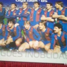 Cromos de Fútbol: LLIGUES INOLVIDABLES. MEGACRACKS BARÇA CAMPIÓ 2004-2005. Lote 179131380