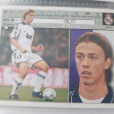 Cromos de Fútbol: EDICIONES ESTE 2001 2002 GUTI REAL MADRID NUEVO DE SOBRE. Lote 223989041