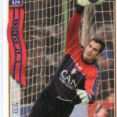 Cromos de Fútbol: ELIA (C. AT. OSASUNA) - Nº 329 - LAS FICHAS DE LA LIGA 2005 - MUNDICROMO.. Lote 179160576