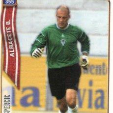 Cromos de Fútbol: GASPERCIC (ALBACETE BALOMPIÉ) - Nº 355 - LAS FICHAS DE LA LIGA 2005 - MUNDICROMO.. Lote 179163690