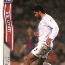 Cromos de Fútbol: BUADES (ALBACETE BALOMPIÉ) - Nº 358 - LAS FICHAS DE LA LIGA 2005 - MUNDICROMO.. Lote 179164497