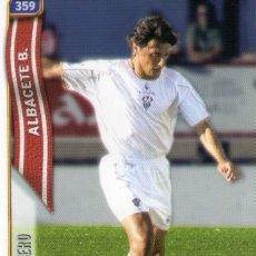 Cromos de Fútbol: SIVIERO (ALBACETE BALOMPIÉ) - Nº 359 - LAS FICHAS DE LA LIGA 2005 - MUNDICROMO.. Lote 179165235