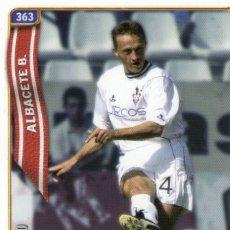 Cromos de Fútbol: VIAUD (ALBACETE BALOMPIÉ) - Nº 363 - LAS FICHAS DE LA LIGA 2005 - MUNDICROMO.. Lote 179165663