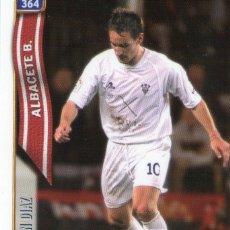Cromos de Fútbol: IVAN DIAZ (ALBACETE BALOMPIÉ) - Nº 364 - LAS FICHAS DE LA LIGA 2005 - MUNDICROMO.. Lote 179165840