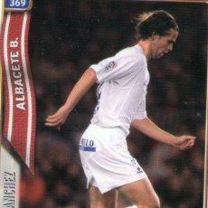 Cromos de Fútbol: DAVID SÁNCHEZ (ALBACETE BALOMPIÉ) - Nº 369 - LAS FICHAS DE LA LIGA 2005 - MUNDICROMO.. Lote 179166668