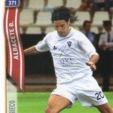 Cromos de Fútbol: PACHECO (ALBACETE BALOMPIÉ) - Nº 371 - LAS FICHAS DE LA LIGA 2005 - MUNDICROMO.. Lote 179169180