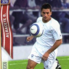 Cromos de Fútbol: FRANCISCO (ALBACETE BALOMPIÉ) - Nº 375 - LAS FICHAS DE LA LIGA 2005 - MUNDICROMO.. Lote 179169650