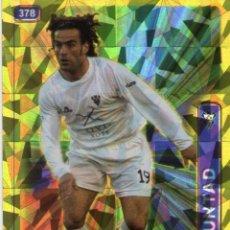 Cromos de Fútbol: PEÑA (ALBACETE BALOMPIÉ) - Nº 378 - BRILLO TRIÁNGULOS - LAS FICHAS DE LA LIGA 2005 - MUNDICROMO.. Lote 179170095