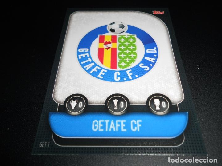 1 Escudo Logo Getafe Cards Uefa Champions Y Europa League Topps Attax 19 20 2019 2020