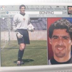 Cromos de Fútbol: EDICIONES ESTE 2001 2002 BONANO FC BARCELONA NUEVO DE SOBRE. Lote 263909360