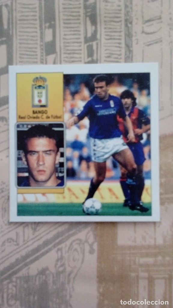 BANGO DEL OVIEDO SIN PEGAR LIGA 92/93 (Coleccionismo Deportivo - Álbumes y Cromos de Deportes - Cromos de Fútbol)