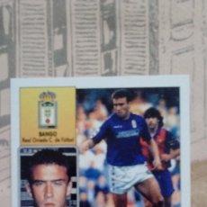 Cromos de Fútbol: BANGO DEL OVIEDO SIN PEGAR LIGA 92/93. Lote 179220432