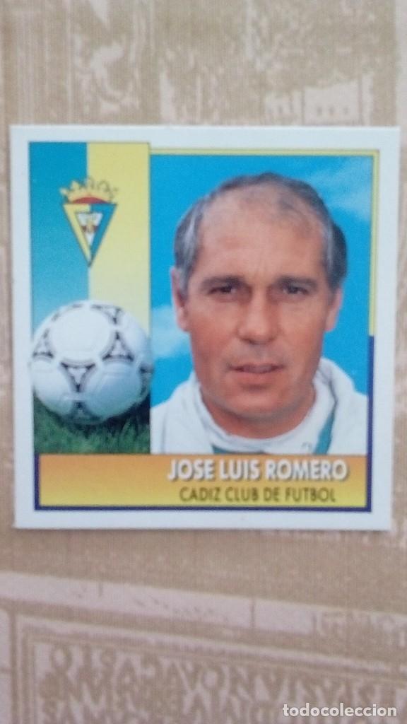 JOSELUIS ROMERO LIGA 92/93 SIN PEGAR (Coleccionismo Deportivo - Álbumes y Cromos de Deportes - Cromos de Fútbol)