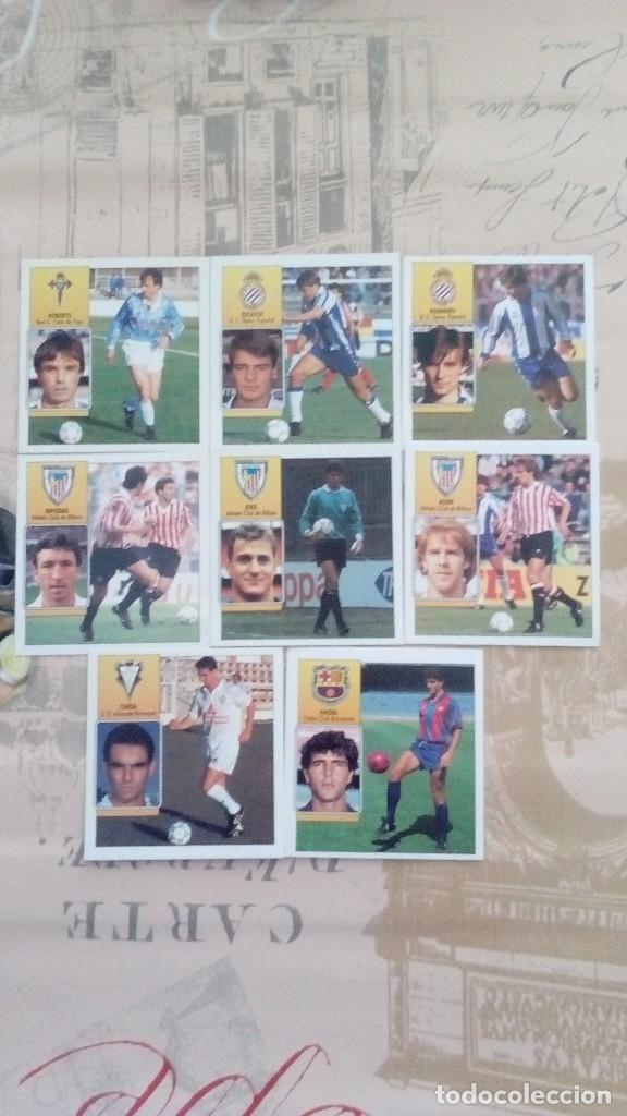 LOTE DE 8 CROMOS LIGA 92/93 SIN PEGAR (Coleccionismo Deportivo - Álbumes y Cromos de Deportes - Cromos de Fútbol)