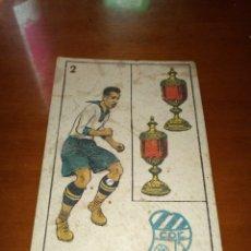 Cromos de Fútbol: PELLICER EUROPA.CROMO N 2 DE LA COLECCIÓN: CROMO DE FUTBOL, CHOCOLATE AMATLLER.. Lote 179266763