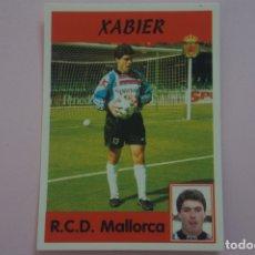 Cromos de Fútbol: CROMO DE FUTBOL XABIER DEL R.C.D. MALLORCA SIN PEGAR Nº 320 LIGA PANINI 1997-1998/97-98. Lote 194768543