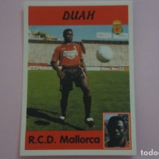 Cromos de Fútbol: CROMO DE FUTBOL DUAH DEL R.C.D. MALLORCA SIN PEGAR Nº 317 A LIGA PANINI 1997-1998/97-98. Lote 194768512