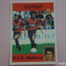 Cromos de Fútbol: CROMO DE FUTBOL COPADO DEL R.C.D. MALLORCA SIN PEGAR Nº 314 LIGA PANINI 1997-1998/97-98. Lote 194768503