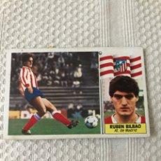 Cromos de Fútbol: EDICIONES ESTE 86 87 FICHAJE 23 RUBEN BILBAO ATLETICO MADRID. Lote 179325630