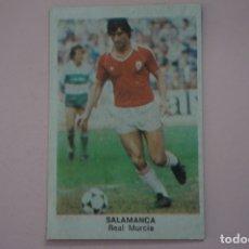 Cromos de Fútbol: CROMO DE FÚTBOL SALAMANCA DEL REAL MURCIA DESPEGADO LIGA FUTBOL 84 DE CROMOS CANO. Lote 213683507