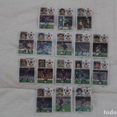 Cromos de Fútbol: LOTE 16 CROMOS EDICIONES ESTE. FC. BARCELONA. TEMPORADA 83-84. Lote 179529418