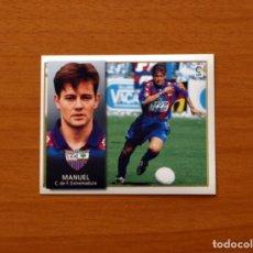 Cromos de Fútbol: EXTREMADURA - MANUEL - EDICIONES ESTE 1998-1999, 98-99 - NUNCA PEGADO. Lote 179710681