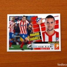 Cromos de Fútbol: ATLÉTICO MADRID - MARIO SUÁREZ - LIGA 2013-2014, 13-14 - EDICIONES ESTE - NUNCA PEGADO. Lote 179716615