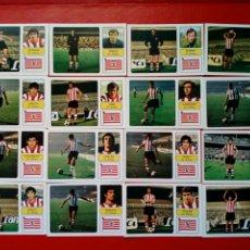 Cromos de Fútbol: (SIN PEGAR) LOTE 16 CROMOS JUGADORES ATHLETIC CLUB DE BILBAO - FHER LIGA 73 - 74 / 1973 1974. Lote 180009083
