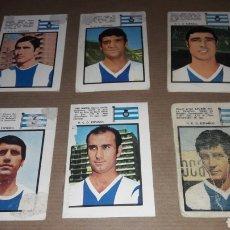 Cromos de Fútbol: LOTE 6 CROMOS ESPAÑOL 71 FHER. Lote 180037156