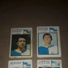 Cromos de Fútbol: LOTE 4 CROMOS SABADELL 71 FHER. Lote 180038858