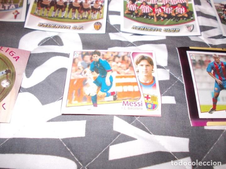 Cromos de Fútbol: LIGA ESTE 2004 2005 MESSI +ALINACIONES LA RAZON 2003 2004 - Foto 2 - 180078437