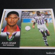 Cromos de Fútbol: CROMO JULIO CESAR VALLADOLID CROMOS ALBUM EDICIONES ESTE LIGA FUTBOL 1998-1999 98-99. Lote 180100270
