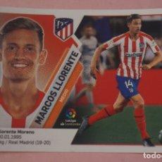 Cromos de Fútbol: CROMO DE FÚTBOL MARCOS LLORENTE DEL ATLETICO DE MADRID SIN PEGAR FICHAJE 9 LIGA ESTE 2019-2020/19-20. Lote 180108988