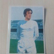 Cromos de Fútbol: EDICIONES ESTE 73 74 DEL BOSQUE - REAL MADRID - 1973 1974 CROMO SIN PEGAR CON NOMBRE ESCRITO TRASERA. Lote 180164710
